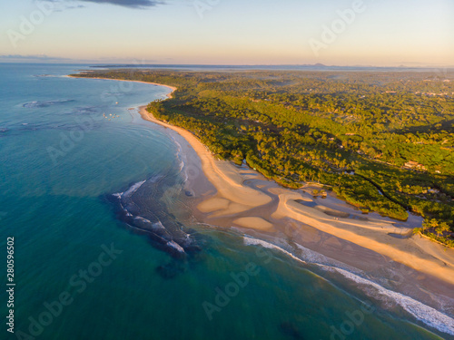 Trancoso, Brazil - July/15/ 2019 - The beauty of low tide in Trancoso Canvas Print