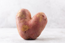 Ugly Potato In The Heart Shape...