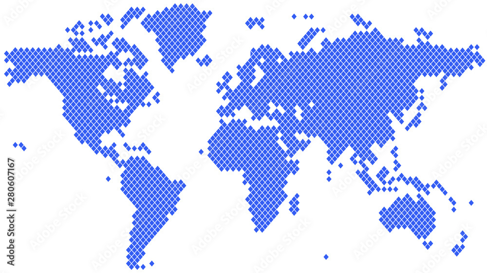 Fototapety, obrazy: Word map dots