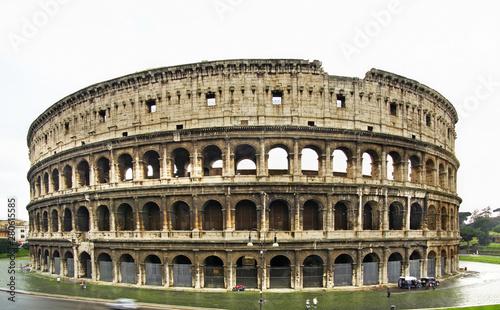 Fényképezés  Colosseum  (Coliseum) - Flavian Amphitheatre in Rome. Italy