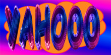 Cartoon YAHOOO Illustration In Comic Book Cloud