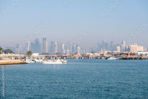 Tuinposter Dubai Doha, Qatar, Middle East.