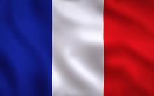 France Flag Image Full Frame