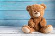 canvas print picture - Cute teddy bear