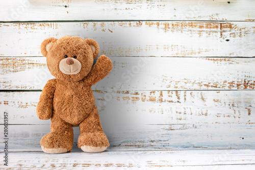 Papel de parede  Cute teddy bear