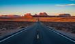 Forrest Gump Point highway in Arizona