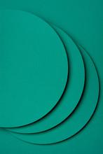 Turquoise Paper Material Desig...