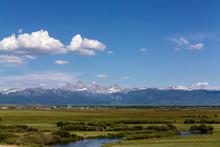 Clouds Over Mountain Range, Ri...