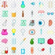 Exploration icons set. Cartoon style of 36 exploration vector icons for web for any design