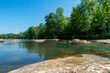 canvas print picture - Catawba River, Landsford Canal State Park, South Carolina