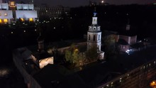 Aerial Night Shot Of Andreevsk...