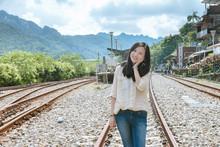 Single Asian Girl At Shifen St...