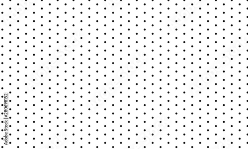 Canvas Prints Pattern Grey seamless polka dot pattern. Vector illustration