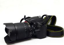 DSLR DX Sensor Camera With Lens