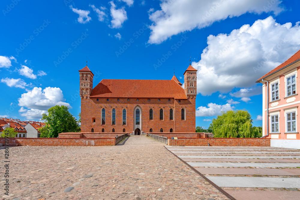 Fototapety, obrazy: Zamek Lidzbark Warmiński, Polska, Europa