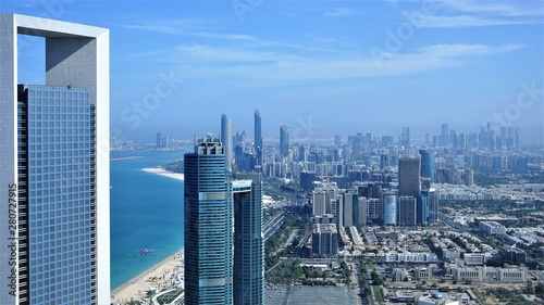 Recess Fitting Abu Dhabi aerial landscape of abu dhabi capital