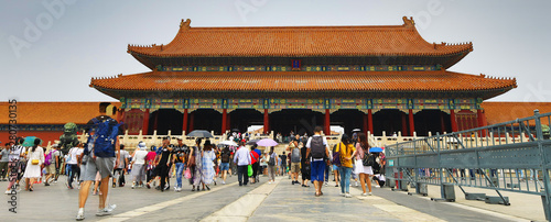 Keuken foto achterwand Peking The Forbidden City, Beijing General view.