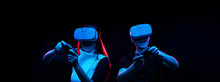 Couple With Virtual Reality He...