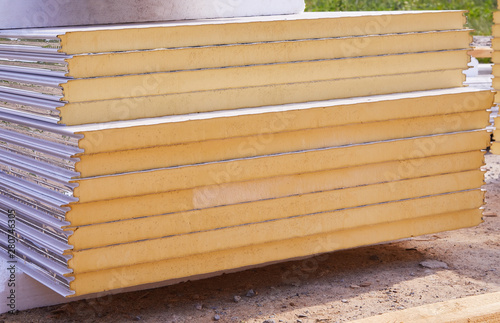 Photo Pack of Sustainable echo absorber sandwich panel for wall