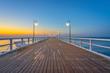 Sunrise over the Baltic Sea, Gdynia, Poland