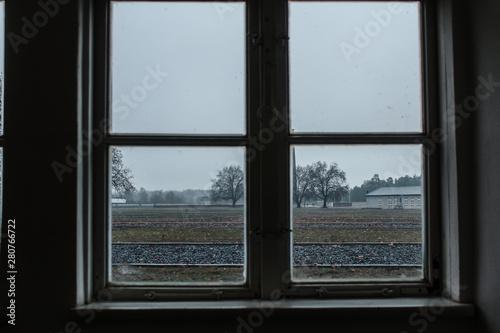 Vista de Sachsenhausen Fototapet