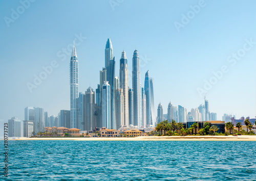 Dubai, UAE United Arabs Emirates Tablou Canvas
