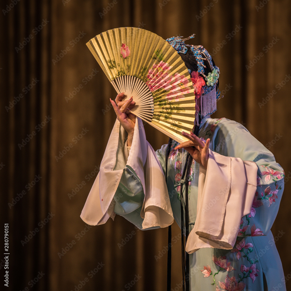 Fototapety, obrazy: Traditional Chinese Opera at Beijing.