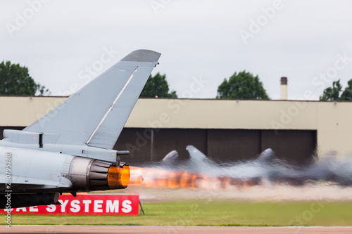 Fotografia Royal Air Force Typhoon FGR
