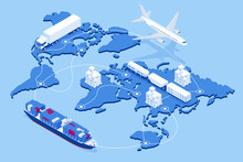 Global Logistics Network Flat ...