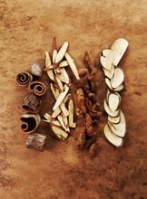 Cinnamon,seal Wort, Herbal Medicine.