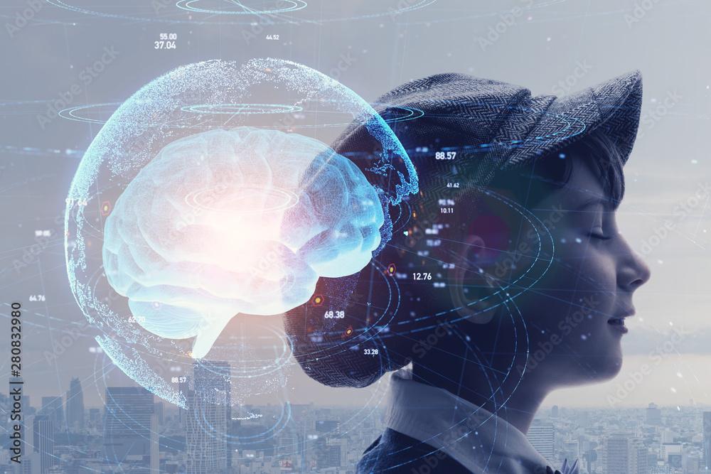 Fototapety, obrazy: AI 人工知能