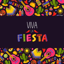Mexican Fiesta Background, Tra...