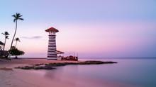 Sunrise At Bayahibe Beach With...