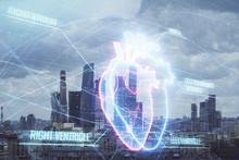 Multi Exposure Of Human Heart ...