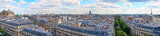 Fototapeta Fototapety Paryż - Panoramic picture of Paris / Taken from the Rooftop Balkony of the shopping centre