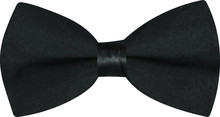 Elegant Black Tie. Business Concept. Happy Wedding Day. Modern , Classic Necktie. Decorative Object For Card, Banner And Invite.