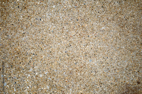 Concrete texture closeup with visible pebbles
