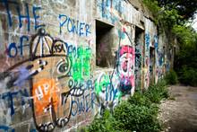 Grafitti On Fort Wall