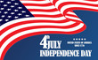 Independence Day American flag 4 july.