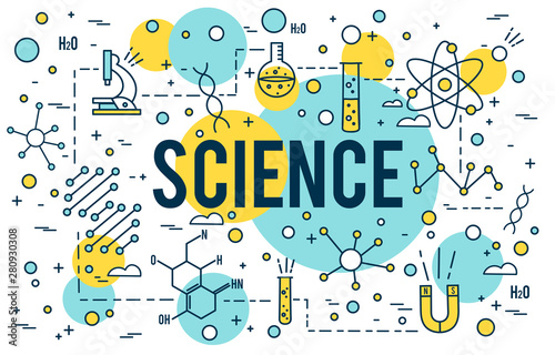Photo Science background