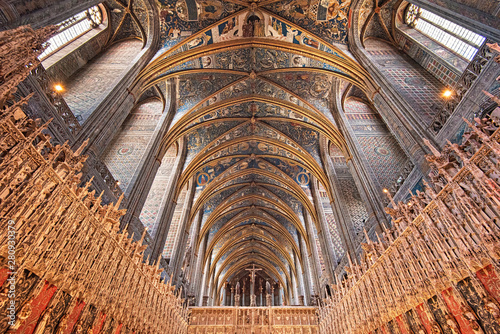 Photo Ceiling of the Cathedral of Albi, France