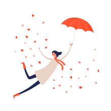 Vector Character Autumn Illust...