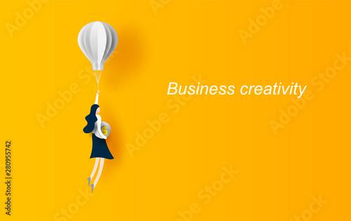 Stampa su Tela  Business concept idea