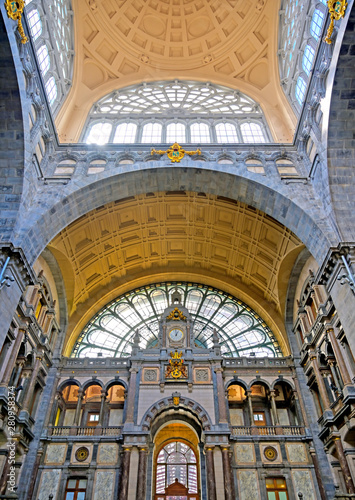 Keuken foto achterwand Antwerpen The interior of the Antwerp (Antwerpen), Belgium railway station.