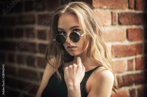 Canvas Prints Personal modern stylish girl