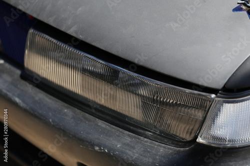 Papiers peints Tunnel Car's headlamp design
