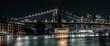 Brooklyn Bridge, Jane's Carousel, Warehouse long exposure evening shot