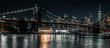 Brooklyn Bridge with downtown Manhattan