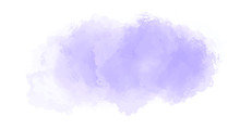 Abstract Purple Watercolor Bac...
