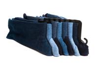 Set Of Men's Socks Isolated